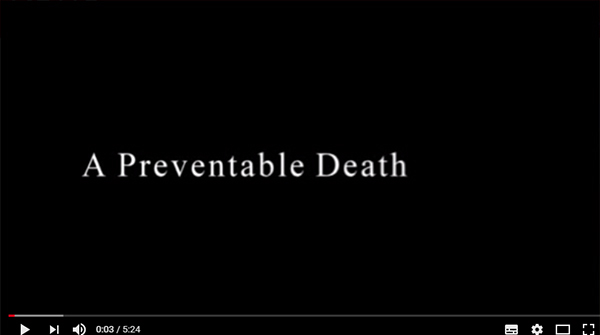 A preventable death